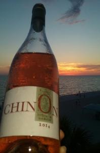 Chinon rose