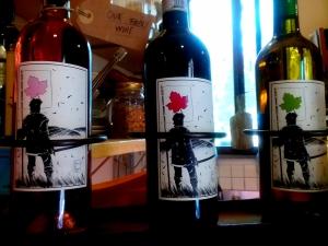 Luca's Wine Bottles