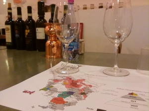 Wine School Map