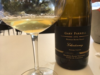 Gary Farrell 2015 Rochioli-Allen Vineyards Clone 76 Chardonnay, aged in concrete egg