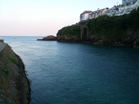 Coast in the town of Looe