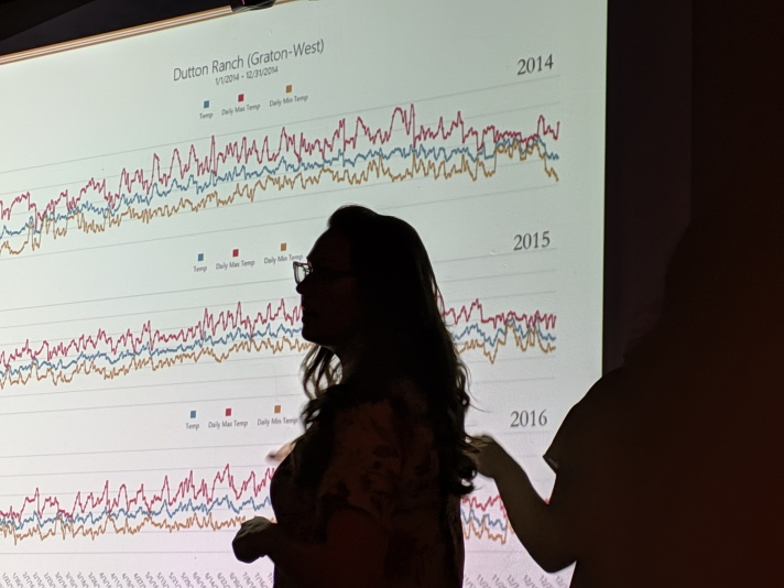 Tiffany w Weather Charts