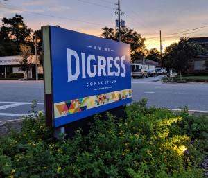 Digress Sign